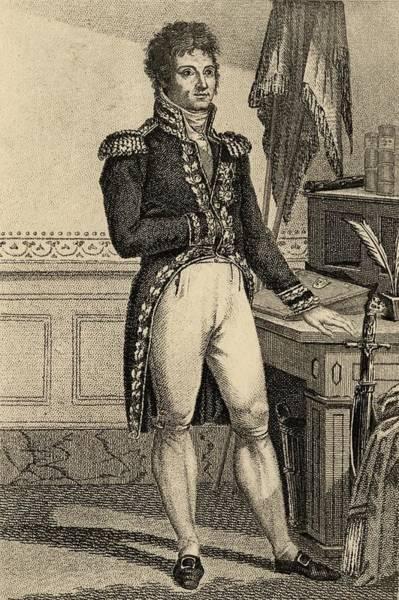 Wall Art - Drawing - Louis Alexandre Berthier, 1753-1815 by Vintage Design Pics