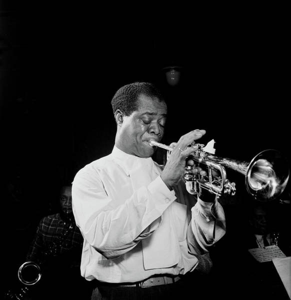 Wall Art - Photograph - Louis Armstrong At Carnegie Hall, 1947 by William Gottlieb
