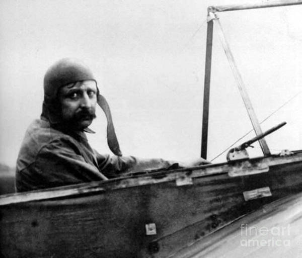Bleriot Photograph - Louis Bl�riot, French Aviator by Science Source