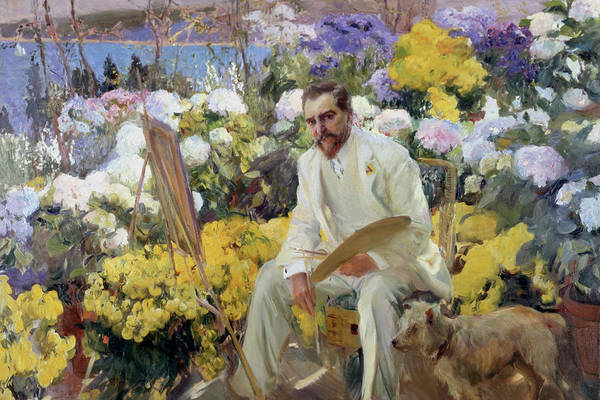 1923 Painting - Louis Comfort Tiffany by MotionAge Designs