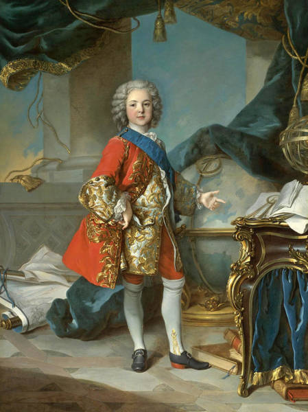 Wall Art - Painting - Louis, Dauphin De France by Louis Tocque and Studio