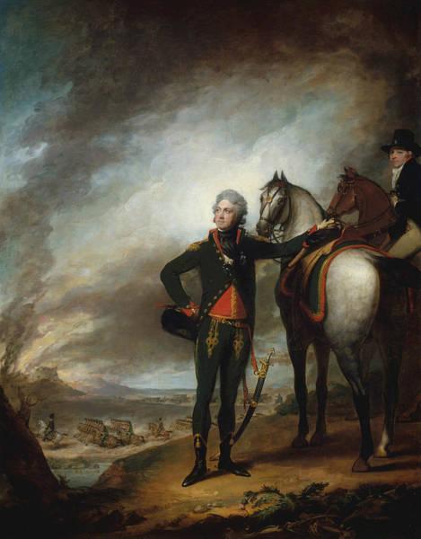 Painting - Louis-marie, Vicomte De Noailles by Gilbert Stuart