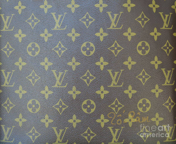 Wall Art - Photograph - Louis Vuitton Brown Gold Monogram by To-Tam Gerwe