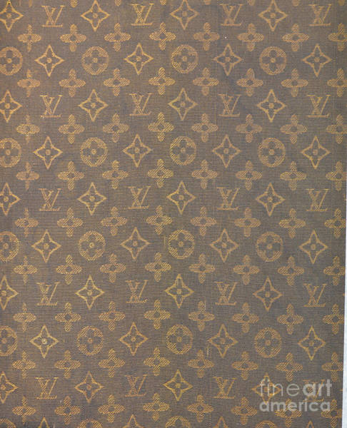 Wall Art - Photograph - Louis Vuitton Fabric Pattern Monograms by To-Tam Gerwe