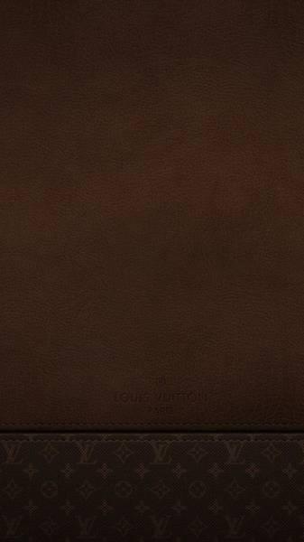 Louis Vuitton Digital Art - Louis Vuitton Leather Brand 54788 1080x1920 by Mery Moon