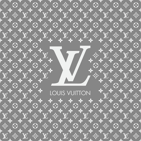 Wall Art - Digital Art - Louis Vuitton Pattern - Lv Pattern 10 - Fashion And Lifestyle by TUSCAN Afternoon