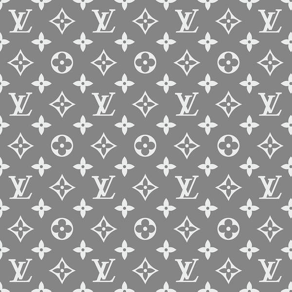 Wall Art - Digital Art - Louis Vuitton Pattern - Lv Pattern 13 - Fashion And Lifestyle by TUSCAN Afternoon
