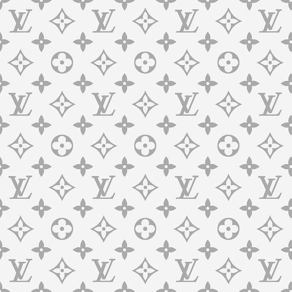 Wall Art - Digital Art - Louis Vuitton Pattern - Lv Pattern 14 - Fashion And Lifestyle by TUSCAN Afternoon