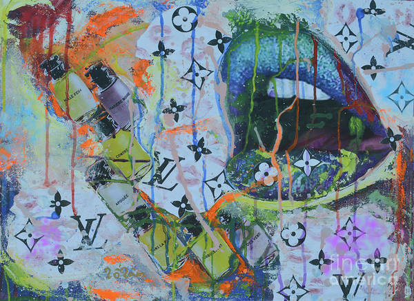Spatter Mixed Media - Louis Vuitton The Magnificent Seven 4 by To-Tam Gerwe