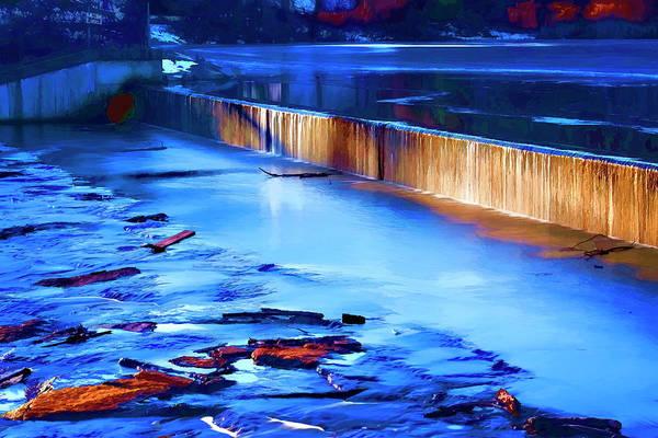 Photograph - Louisa Lake Dam by Tom Singleton
