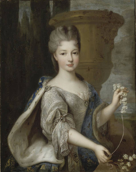 Wall Art - Painting - Louise Elisabeth De Bourbon, Princesse De Cont by Pierre Gober