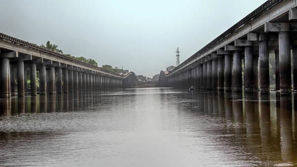 Photograph - Louisiana Airborne Memorial Bridge by Susan Rissi Tregoning