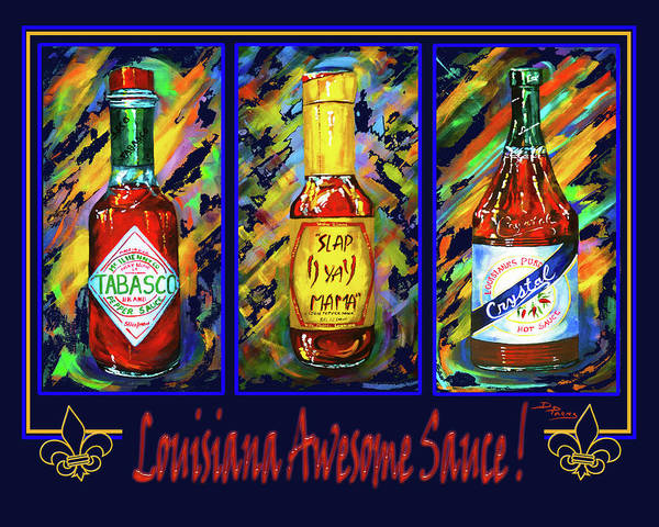 Painting - Louisiana Awesome Sauces by Dianne Parks