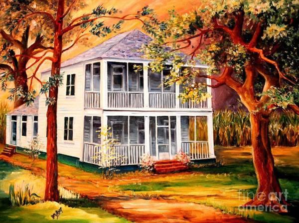 Wall Art - Painting - Louisiana Family Home by Diane Millsap