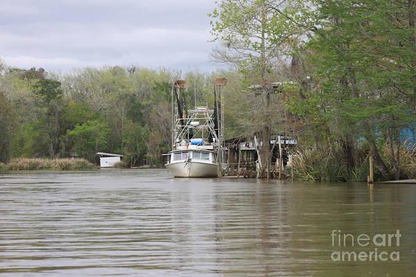 Wall Art - Photograph - Louisiana Shrimp Boat by Eric Irion