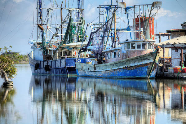 Photograph - Louisiana Shrimping by JC Findley