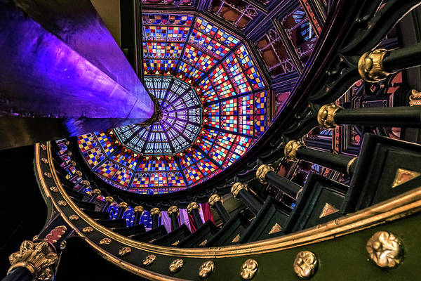 Photograph - Old Louisiana State Capitol Kaleidoscope by Andy Crawford