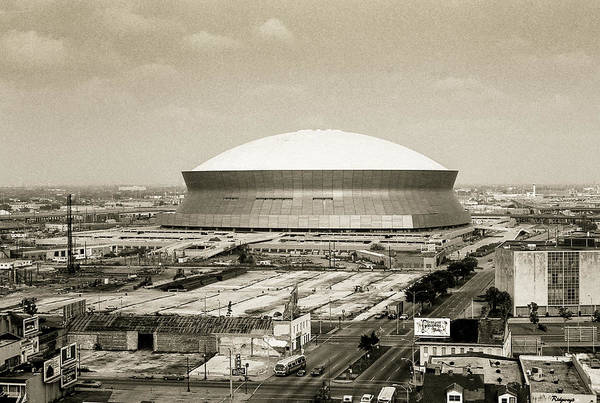 Photograph - Louisiana Superdome by KG Thienemann