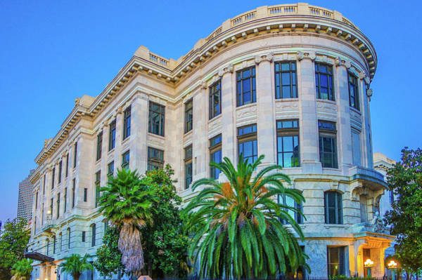Wall Art - Photograph - Louisiana Supreme Court Building In The French Quarter New Orleans by Art Spectrum