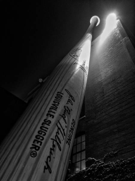 Photograph - Louisville Bat At Rest  by Joseph Caban