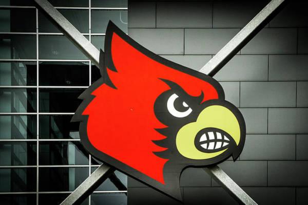 Wall Art - Photograph - Louisville Cardinals Logo  by Art Spectrum