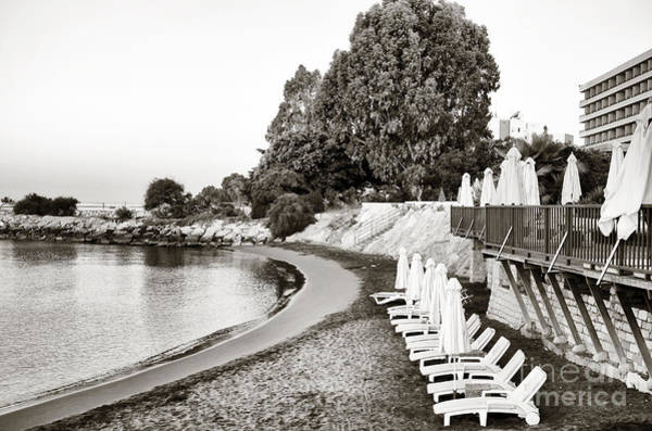 Photograph - Lounge Chairs In Cyprus by John Rizzuto