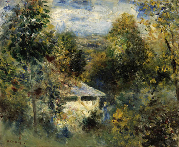 Wall Art - Painting - Louveciennes by Pierre-Auguste Renoir