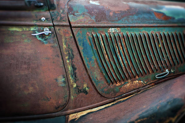 Photograph - Louvers And Rust by Bud Simpson