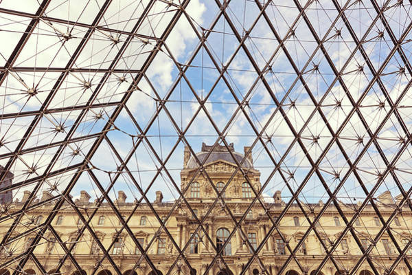 Wall Art - Photograph - Louvre by Melanie Alexandra Price