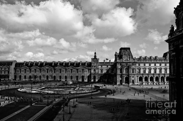 Photograph - Louvre Museum by M G Whittingham