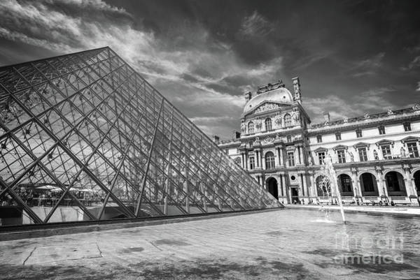 Wall Art - Photograph - Louvre Palace, Paris by Delphimages Photo Creations