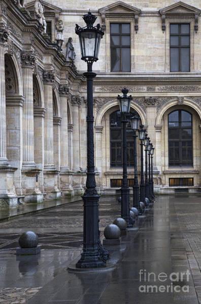 Photograph - Louvre, Paris by Elena Nosyreva