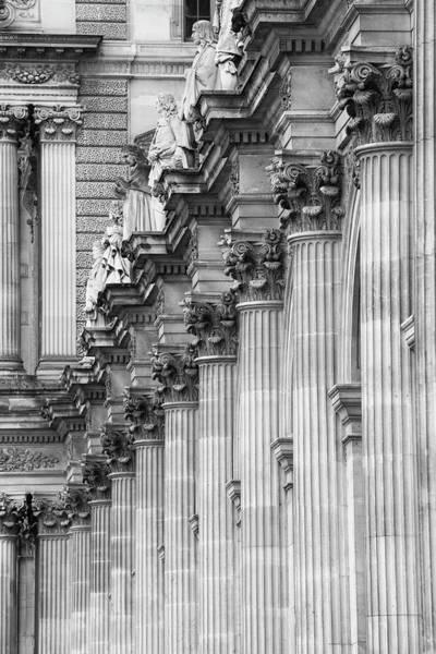 Photograph - Louvre Pillars, Paris, 2015 by Hitendra SINKAR