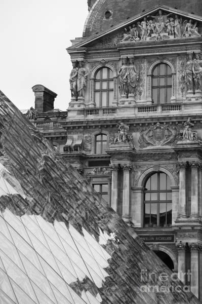 Photograph - Louvre Reflection by Hitendra SINKAR