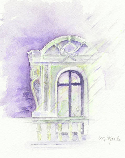 Painting - Louvre Window by Marsha Karle