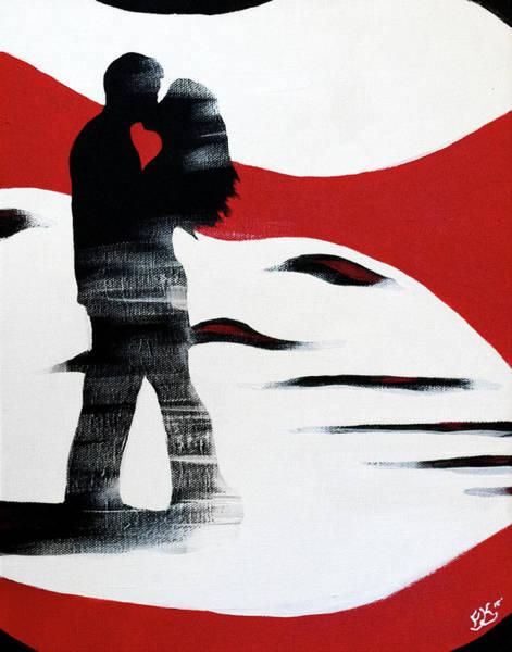Painting - Love 1 by Franklin Kielar