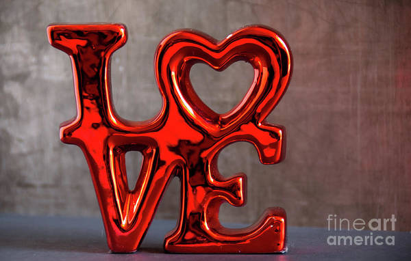 Photograph - Love 3 by Andrea Anderegg