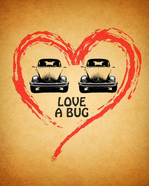 Wall Art - Photograph - Love A Bug by Mark Rogan