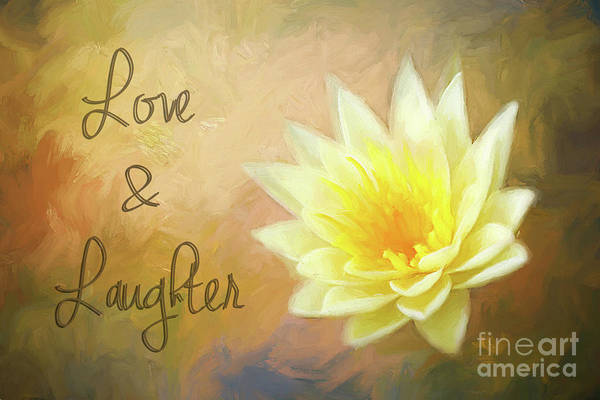 Peace And Harmony Wall Art - Photograph - Love And Laughter by Darren Fisher