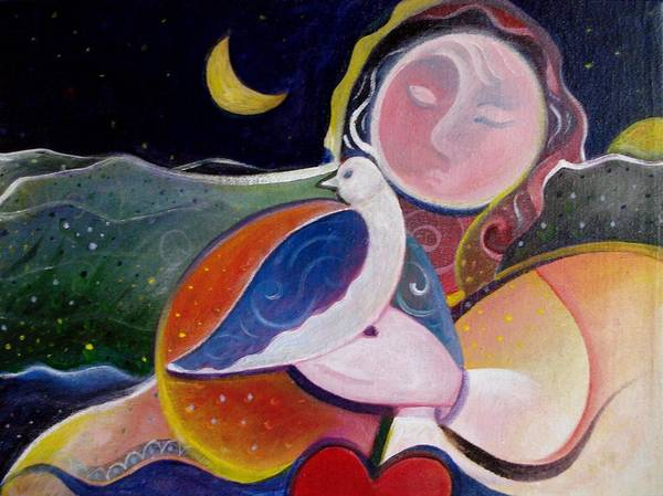 Painting - Love And Patience by Helena Tiainen