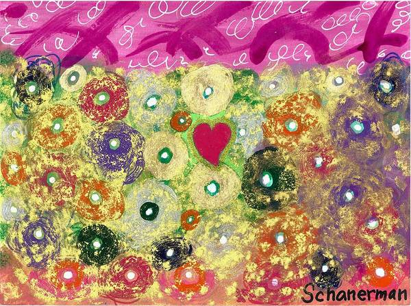Love And Silly Bubbles Art Print