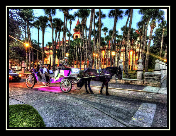 Wall Art - Photograph - Love And St Augustine by Steven Lebron Langston