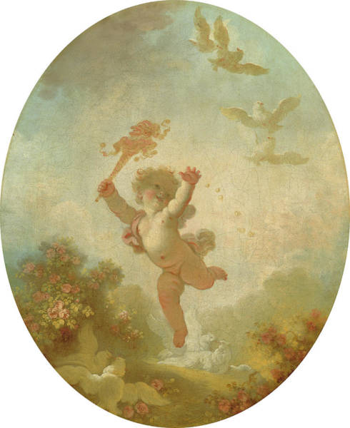 Painting - Love As Folly by Jean-Honore Fragonard