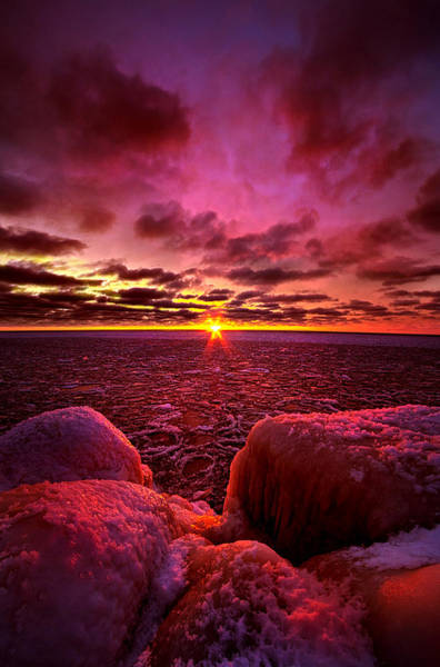 Photograph - Love At First Light by Phil Koch