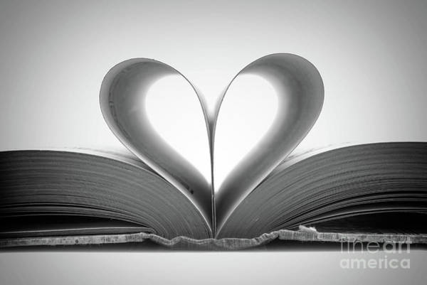 Reader Wall Art - Photograph - Love Book by Delphimages Photo Creations