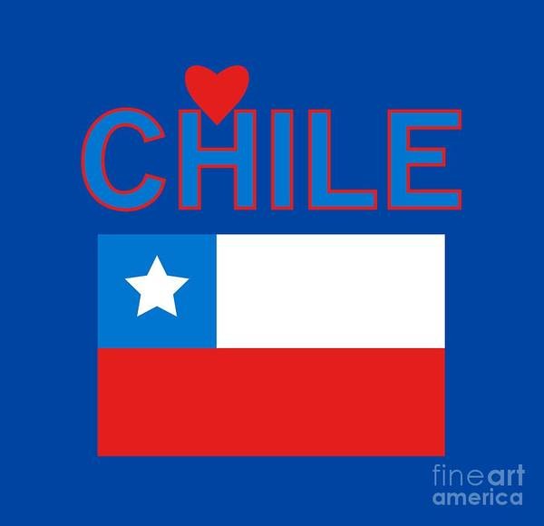 Photograph - Love Chile by David Millenheft