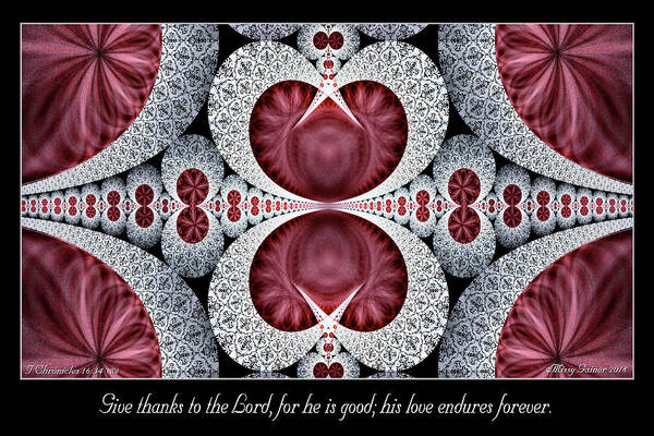 Digital Art - Love Endures Forever by Missy Gainer