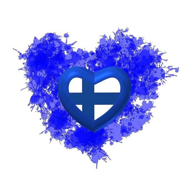 Digital Art - Love Finland by Alberto RuiZ