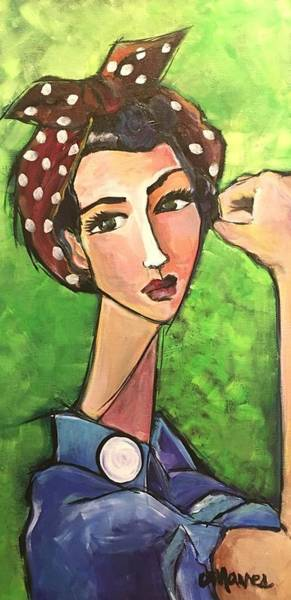 Painting - Love For Riveters by Laurie Maves ART
