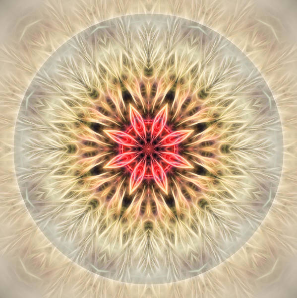 Love From Within Mandala Art Print